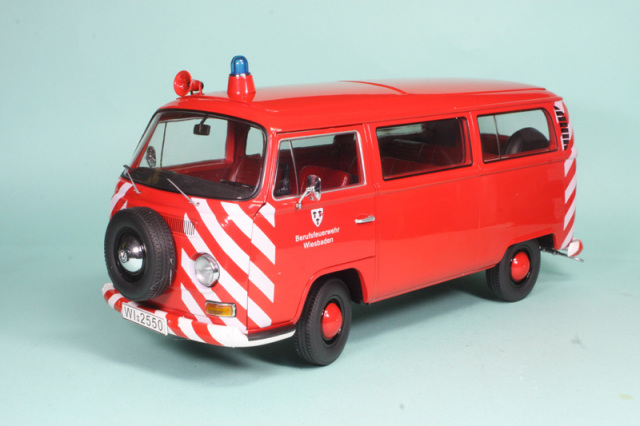シュコー 1/18 フォルクス ワーゲン T2a ヴィーズヴァーデン市 消防車 192