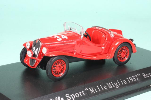 ノレブ 1/43 フィアット バリラ スポーツ ミレミリア 1937 No.34 770024