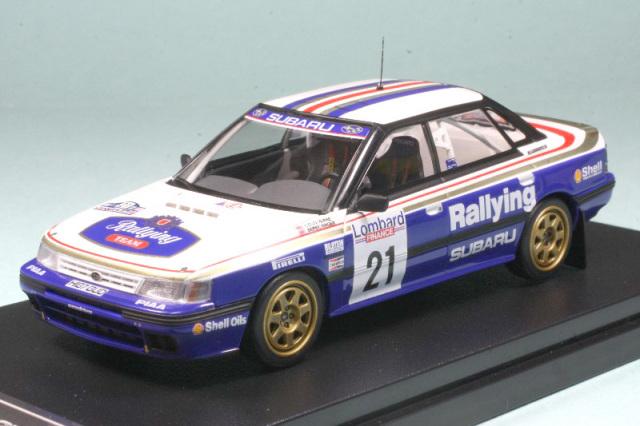 ミラージュ 1/43 スバル レガシィ RS RAC 1991 No.21 (ダイキャスト) 8188