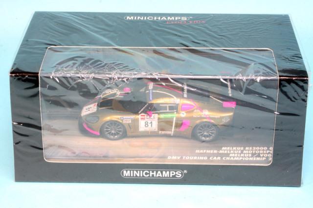 ミニチャンプス 1/43 MELKUS RS 2000 GTR DMV TCC 2010 No.81 (レジン) 437101081