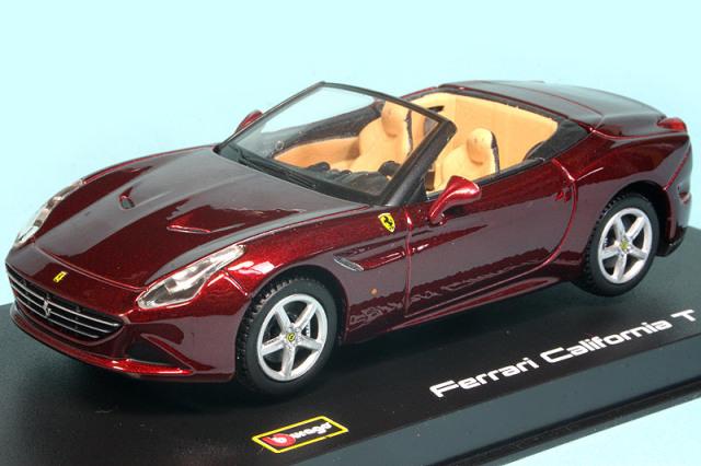 ブラーゴ 1/43 フェラーリ カリフォルニア T オープントップ レッド 36903