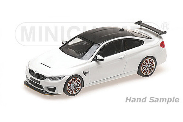 ミニチャンプス 1/43 BMW M4 GTS 2016 ホワイト/オレンジホイール 410025226