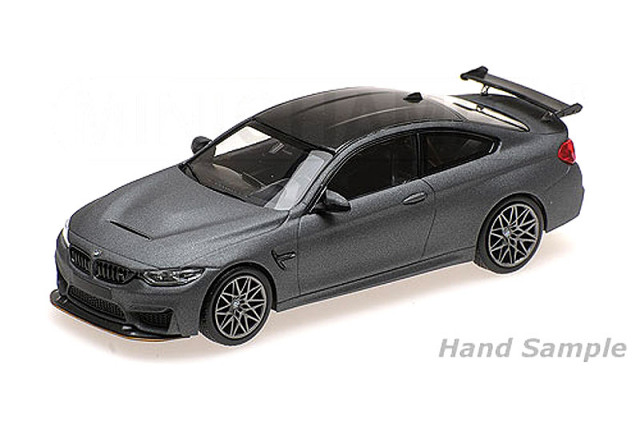 ミニチャンプス 1/43 BMW M4 GTS 2016 マットグレー/グレーホイール 410025225