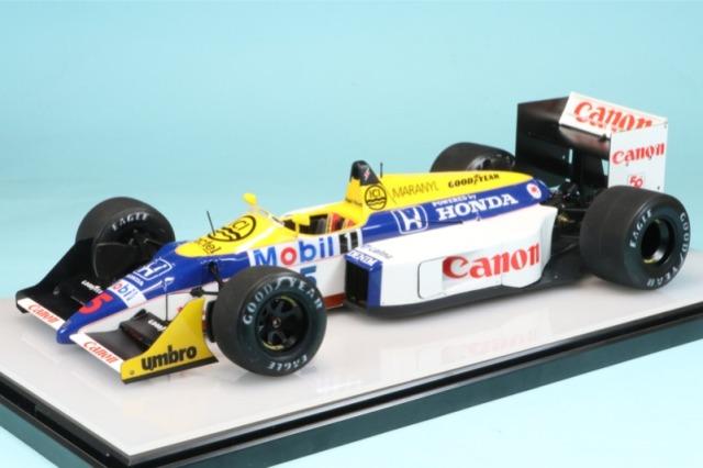 [予約] ロムファクトリー 1/20 ウィリアムズ FW11B イギリスGP 1987 N.マンセル ウィナー RF20019TKD