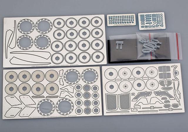 ホビーデザイン 1/24 ランボルギーニ ヴェネーノ ディティールアップパーツ フジミ対応 HD02-0278