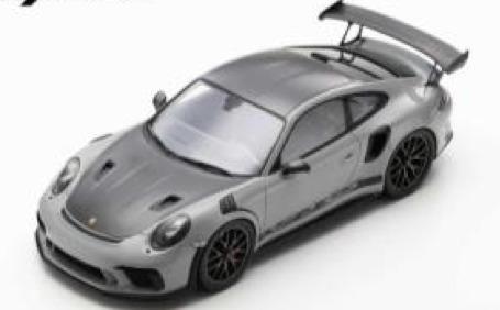 [予約] スパーク 1/12 ポルシェ 911 GT3 RS ワイザッハー パッケージ シルバー 12S024