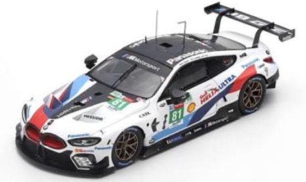 [予約] スパーク&TSM 1/43 BMW M6 ルマン 2019 No.81 TSM430473