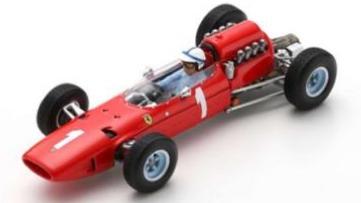 [予約] ルックスマート 1/18 フェラーリ 158 ベルギーGP 1965 J.サーティス LSRC069