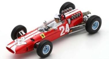 [予約] ルックスマート 1/18 フェラーリ 158 US.GP 1965 B.ボンデュラント LSRC070