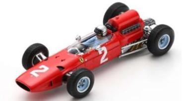 [予約] ルックスマート 1/18 フェラーリ 158 ベルギーGP 1965 L.バンディーニ LSRC071