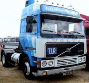 [予約] イクソ 1/43 ボルボ F12 1981 ホワイト/ブルー TR090