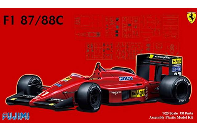フジミ 1/20 プラモデル フェラーリ F1-87/88C (日本GP/イタリアGP) 09198