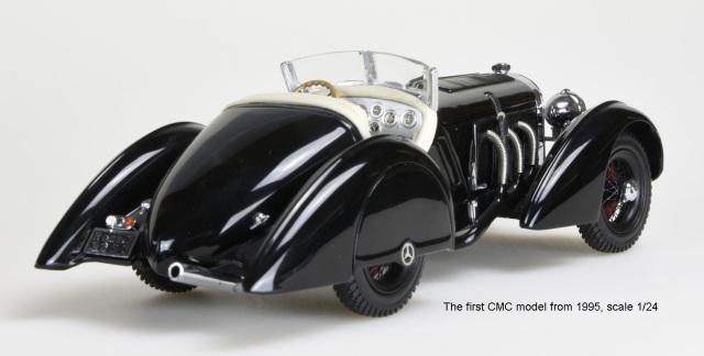 [予約] CMC  1/18 メルセデス ベンツ SSK ブラックプリンス 1934 M-225 M-225