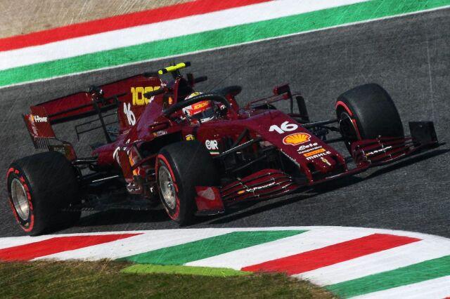 [予約] ルックスマート 1/18 フェラーリ SF1000 トスカーナー ムジェロ GP 2020 フェラーリ F1 1000th GP C.ルクレール LS18F1031