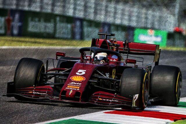 [予約] ルックスマート 1/18 フェラーリ SF1000 トスカーナー ムジェロ GP 2020 フェラーリ F1 1000th GP S.ベッテル LS18F1032