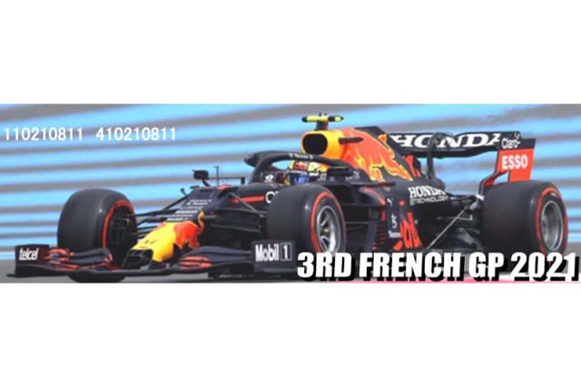 [予約] ミニチャンプス 1/43 レッドブル レーシング ホンダ RB16B フランスGP 2021 3rd S.ペレス 410210811