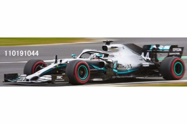 [予約] ミニチャンプス 1/18 メルセデス AMG ペトロナス W10 EQパワー+ イギリスGP 2019 Winner L.ハミルトン 110191044