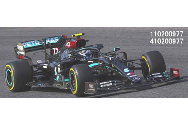 [予約] ミニチャンプス 1/43 メルセデス AMG ペトロナス W11 EQパフォーマンス トスカーナGP 2020 V.ボッタス 410200977