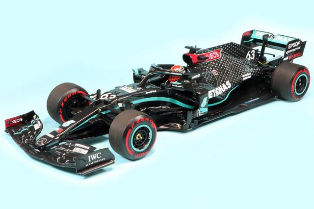 ミニチャンプス 1/18 メルセデス AMG ペトロナス F1チーム W11 EQパフォーマンス サヒールGP 2020 G.ラッセル 110201663