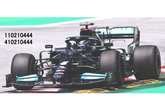 """[予約] ミニチャンプス 1/43 メルセデス AMG ペトロナス F1チーム W12 スペインGP 2021 L.ハミルトン """"PP 100回目"""" 410210444"""