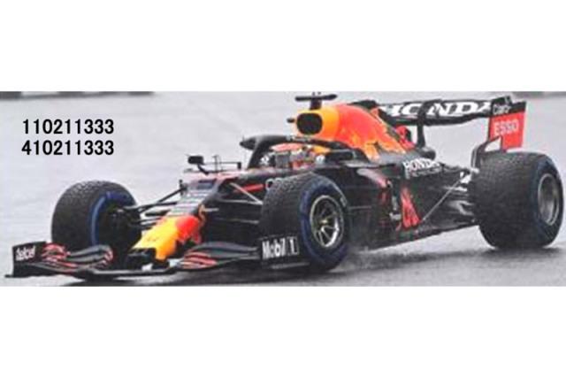 [予約] ミニチャンプス 1/43 レッドブル レーシング ホンダ RB16B ベルギーGP 2021 Winner M.フェルスタッペン 410211333