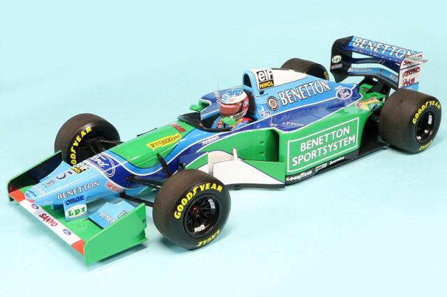 ミニチャンプス 1/18 ベネトン B194 フォード カナダGP 1994 Winner M.シューマッハ 113940605