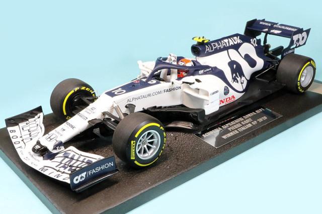 ミニチャンプス 1/18 スクーデリア アルファタウリ ホンダ AT1 イタリアGP 2020 Winner P.ガスリー 117200810