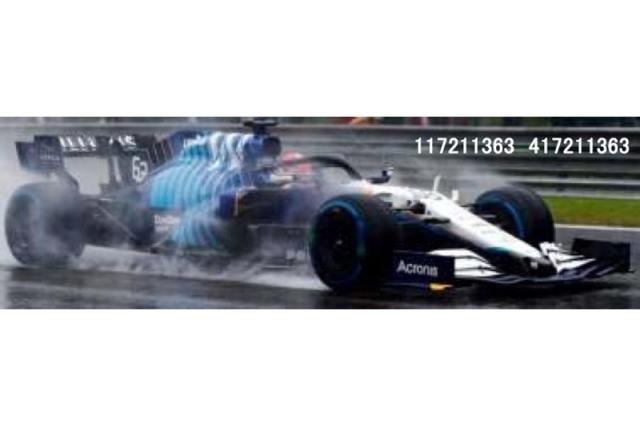 [予約] ミニチャンプス 1/43 ウィリアムズ メルセデス FW43B ベルギーGP 2021 2nd G.ラッセル 417211363