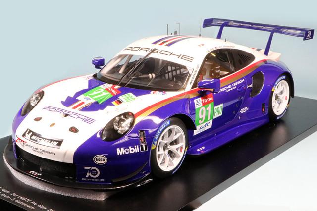 スパーク 1/12 ポルシェ 911 RSR ルマン 24h 2018 LMGTE-Pro 2nd No.91 12S011