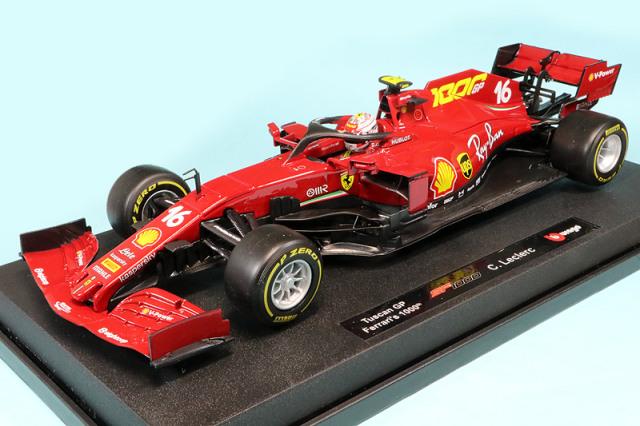ブラーゴ 1/18 フェラーリ SF1000 トスカーナGP C.ルクレール (ドライバーあり) BR-18-16808TU16