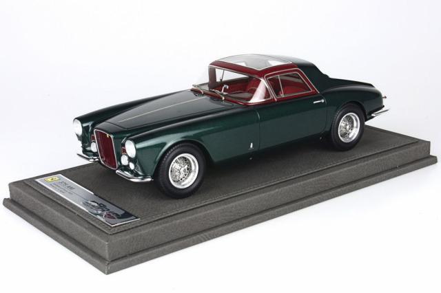 [予約] BBR 1/18 フェラーリ 375 AM 1955 ジャンニ・アニェッリ メタリックダークグリーン ディスプレイケース付き BBR1804