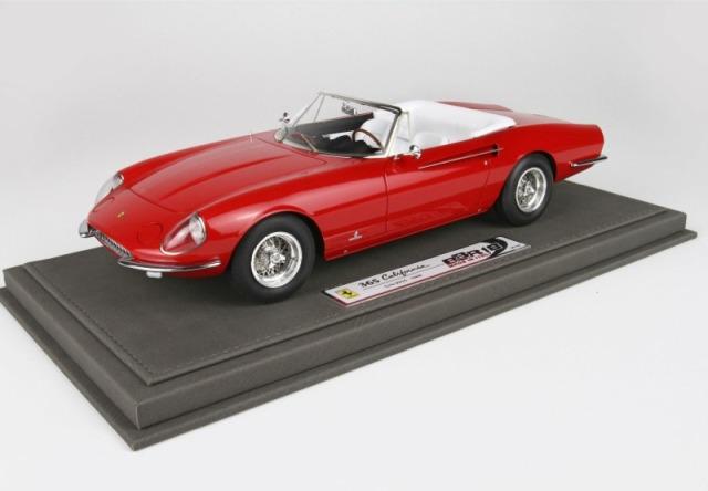 [予約] BBR 1/18 フェラーリ 365 カリフォルニア 1966 限定10台 ディスプレイケース付き BBR1814D