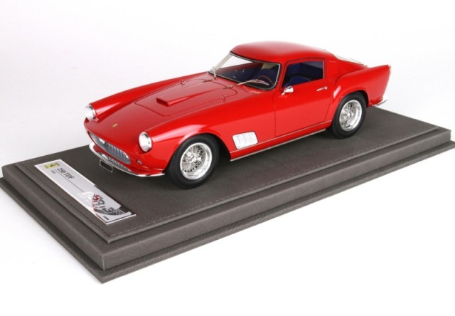 [予約] BBR 1/18 フェラーリ 250 TDF 1958 レッド 限定300台 ディスプレイケース付き BBR1817A
