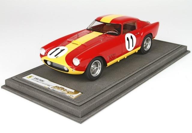 [予約] BBR 1/18 フェラーリ 250 GT TDF ルマン 1959 No.11 限定300台 ディスプレイケース付き BBR1836