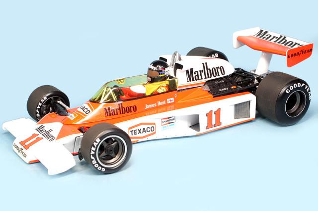 ミニチャンプス 1/18 マクラーレン M23 フォード 1976 ワールドチャンピオン J.ハント デカール加工品 186760011S