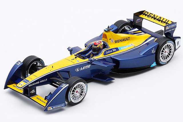 スパーク 1/18 ルノー e.dams フォーミュラE シーズン2 チャンピオン S.ブエミ 18FE02