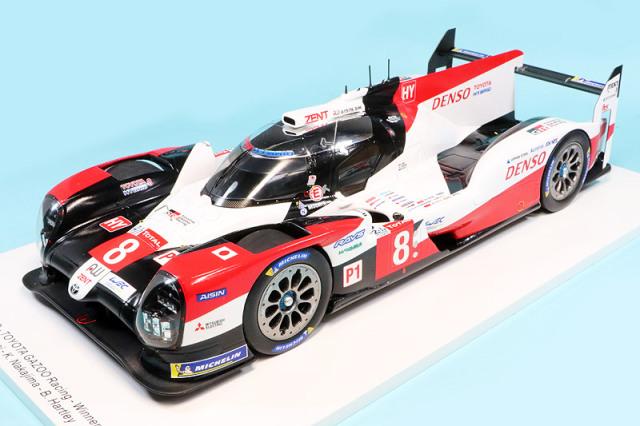 スパーク 1/18 トヨタ TS050 ハイブリッド ルマン 24h 2020 Winner No.8 18LM20