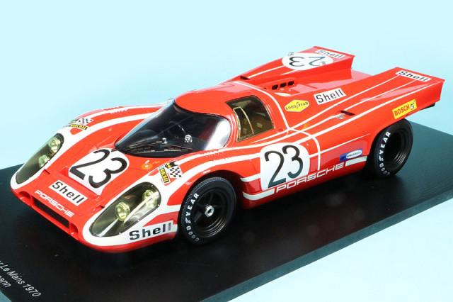 スパーク 1/18 ポルシェ 917K ルマン 24h 1970 Winner No.23 18LM70