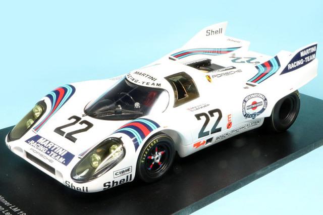 スパーク 1/18 ポルシェ 917K ルマン 24h 1971 Winner No.22 18LM71