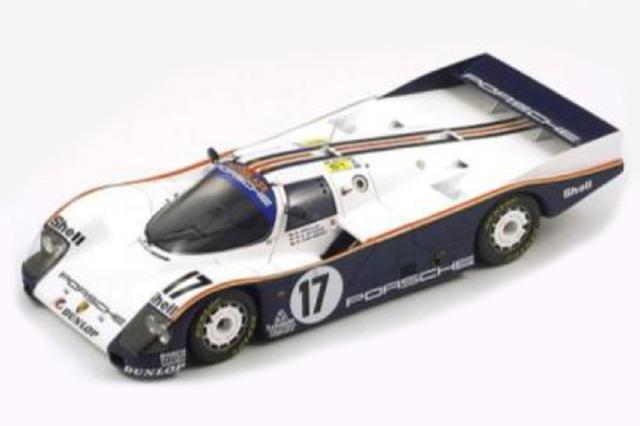 [予約] スパーク 1/18 ポルシェ 962C ルマン 24h 1987 Winner No.17 18LM87