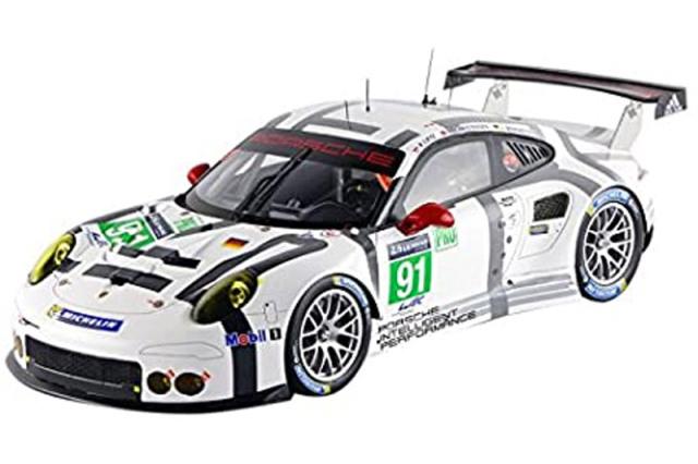 スパーク 1/18 ポルシェ 911 RSR ルマン 24h 2015 LMGTE Pro No.91 18S200