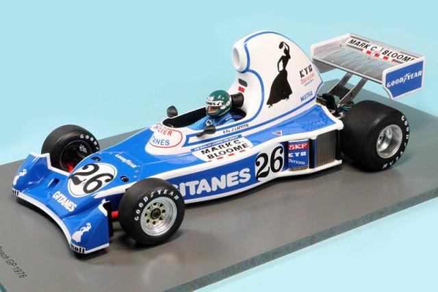 スパーク 1/18 リジェ JS5 ロングビーチGP 1976 J.ラフィー デカール加工品 18S220S