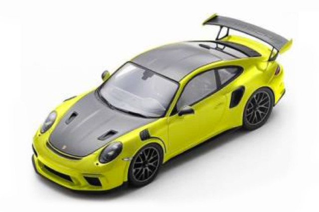 [予約] スパーク 1/18 ポルシェ 911 GT3 RS 2018 イエロー 18S239