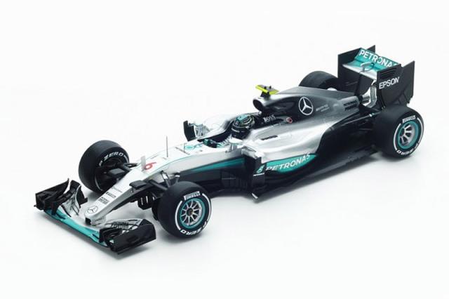 スパーク 1/18 メルセデス W07 オーストラリアGP 2016 Winner N.ロズベルグ 18S242