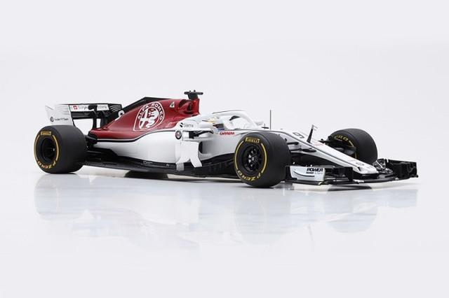 スパーク 1/18 アルファ ロメオ ザウバー F1チーム フェラーリ C37 バーレーンGP 2018 M.エリクソン 18S349