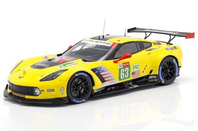 スパーク 1/18 シボレー コルベット C7.R Corvette Racing ルマン 24h 2018 No.63 18S402