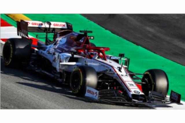 [予約] スパーク 1/18 アルファ ロメオ レーシング ORLEN C39 プレシーズン テスト 2020 K.ライコネン 18S477
