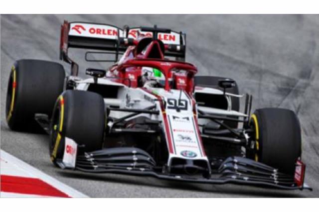 [予約] スパーク 1/18 アルファ ロメオ レーシング ORLEN C39 プレシーズン テスト 2020 A.ジョビナッツィ 18S478