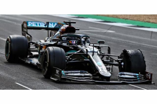 [予約] スパーク 1/18 メルセデス AMG F1 W11 EQ パフォーマンス シルバーストンGP 2020 Winner L.ハミルトン 18S483