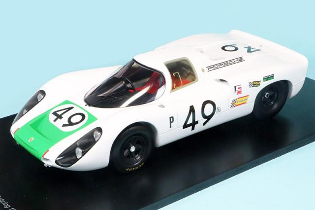 スパーク 1/18 ポルシェ 907C セブリング 12h 1968 Winner No.49 18SE68
